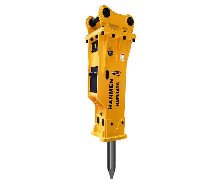 Silenced type HMB1400 hydraulic breaker hammer for 20 – 30 ton excavator