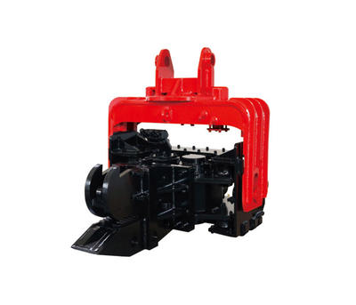 Hydraulic pile hammer,construction attachments