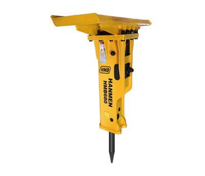 Yantai factory HMB hydraulic rock breaker hammer for skid steer loader