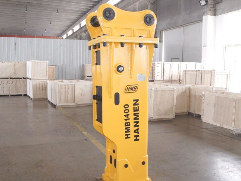 Box Silenced type HMB1400 hydraulic rock breaker hammer