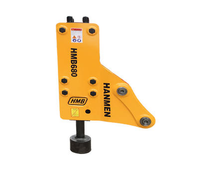 Hydraulic hammer pile driver farm fence post pile driver for excavator