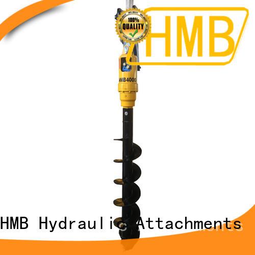 HMB excavator drill attachment Customization for Construction
