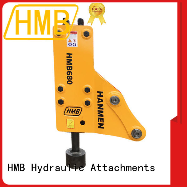 HMB excavator hydraulic hammers for sale Supply for Concrete crushing