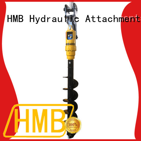 HMB high wear resistance excavator attachments Customization for unloading