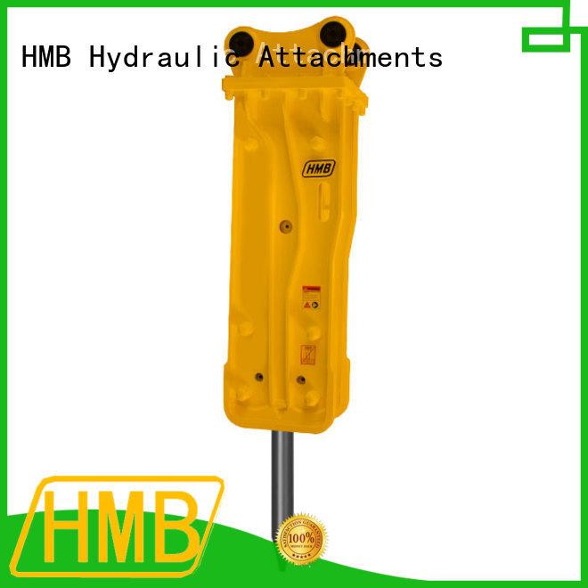 HMB hydraulic concrete breaker for excavator for Old building demolition