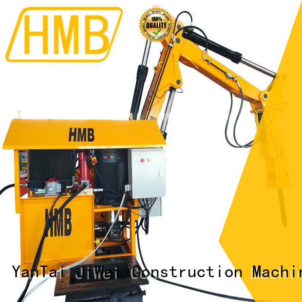 HMB excavator attachments from China for steel ship dismantling