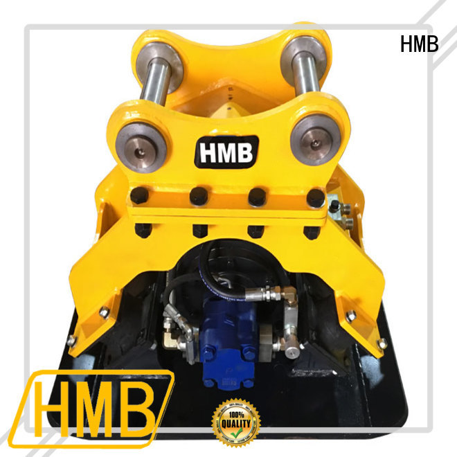 HMB hydraulic compactor manufacturer for loading weathered rock