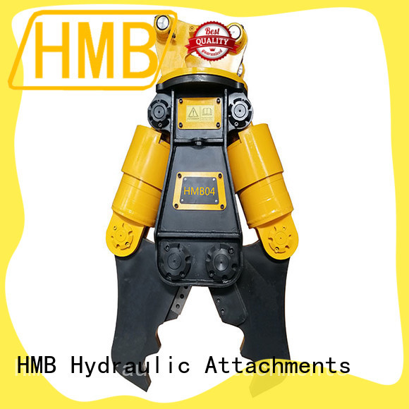 HMB Best excavator demolition attachments for business for excavator or skid steer loader