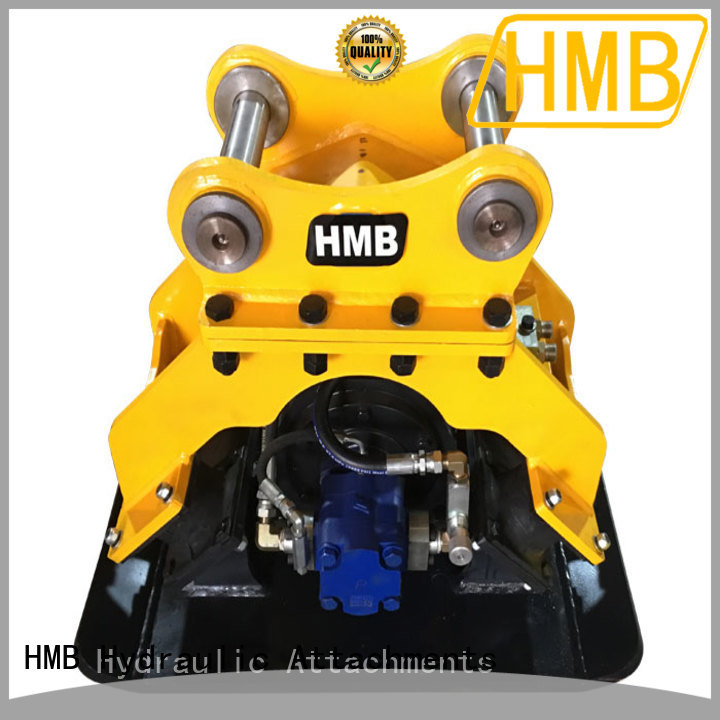 HMB Top hydraulic compactor supplier for loading of hard soil