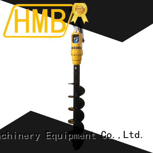 convenience excavator auger for sale supplier for Highway
