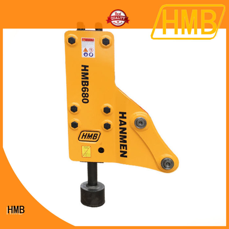 HMB New hydraulic breaker hammer attachment manufacturers for Railway