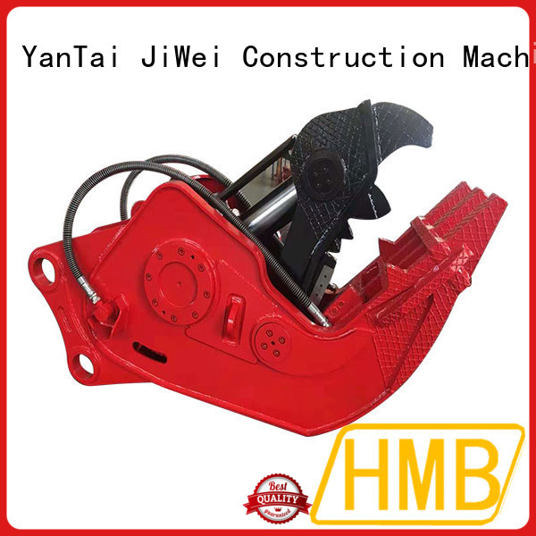 HMB hydraulic pulverizer excavator for dismantling scrapped vehicles