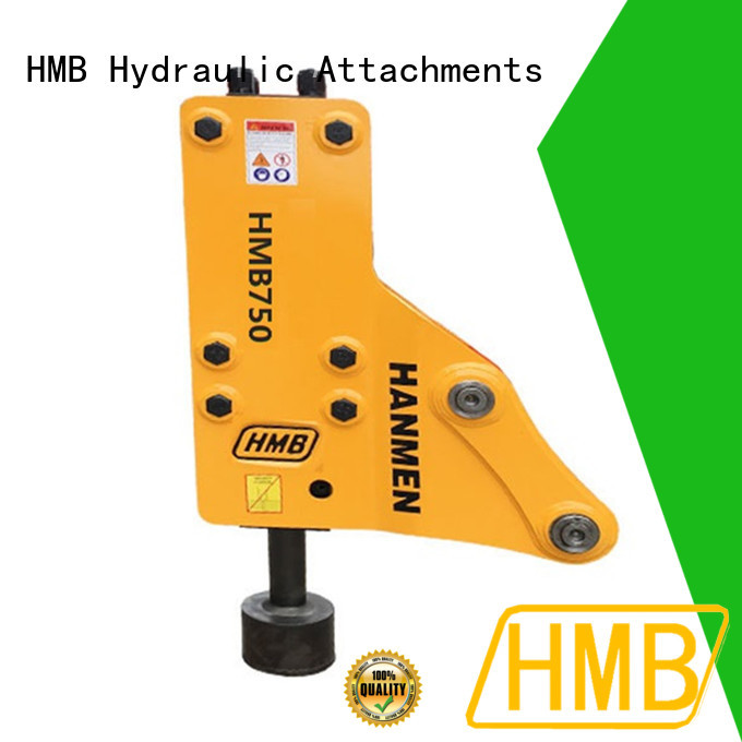 HMB excavator vibro hammer for business for high-speed rail project