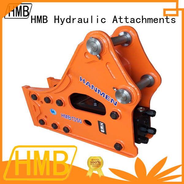 Full-closed housing hydraulic breakers for excavators Exporter for Construction