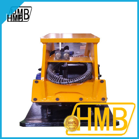 HMB high efficiency hydraulic attachments supplier for loading of hard soil