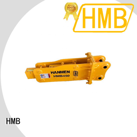 HMB Wholesale hydraulic rock hammer for excavator for Building