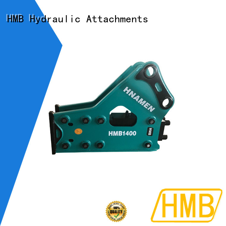 HMB hydraulic breakers for excavators supplier for bridge demolition