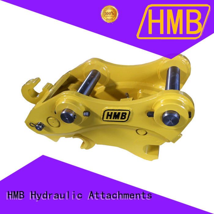 HMB quick hitch company for connect various excavator