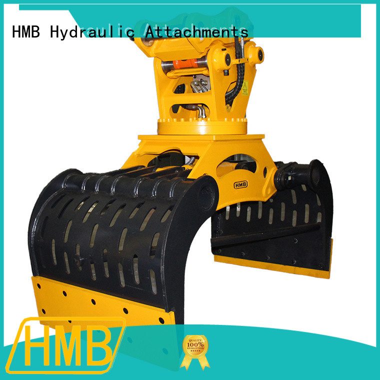 HMB hydraulic grapple China for handling materials with heavy weight