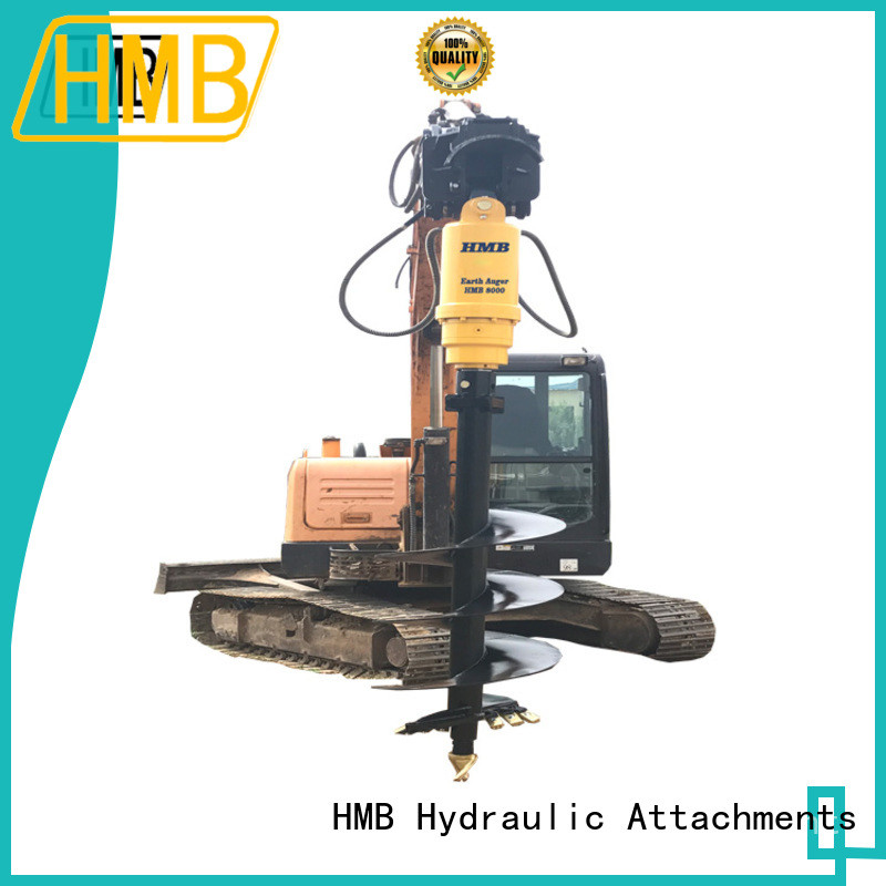 Wholesale excavator mounted auger factory for Concrete crushing