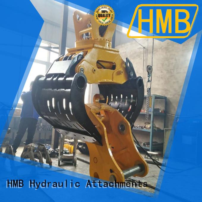 HMB excavator grab Customization for wastes handling