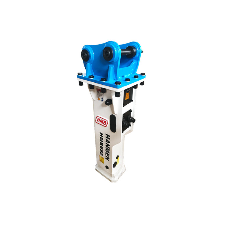 Silenced type hydraulic breaker with 68mm chisel for 3-7ton excavator