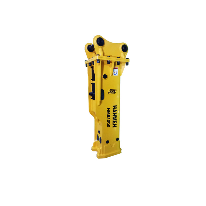 Silenced type Hydraulic rock breaker hammer for 10-15 excavator