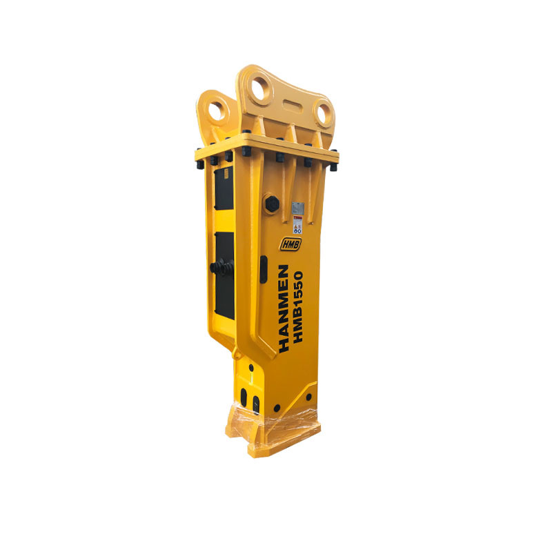 heavy hydraulic jack hammer with 155 mm chisel for 30 ton excavator