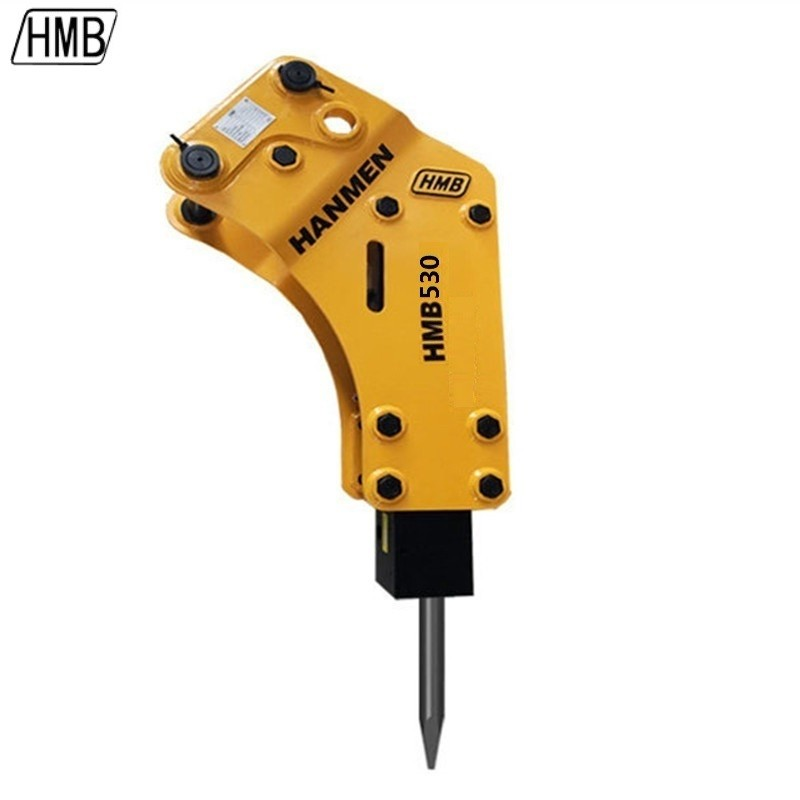 hydraulic breaker with 53mm chisel for 5 ton excavator backhoe loader