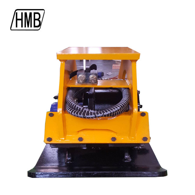 China manufacturer list 15 ton vibrating plate soil hydraulic plate compactor for excavator