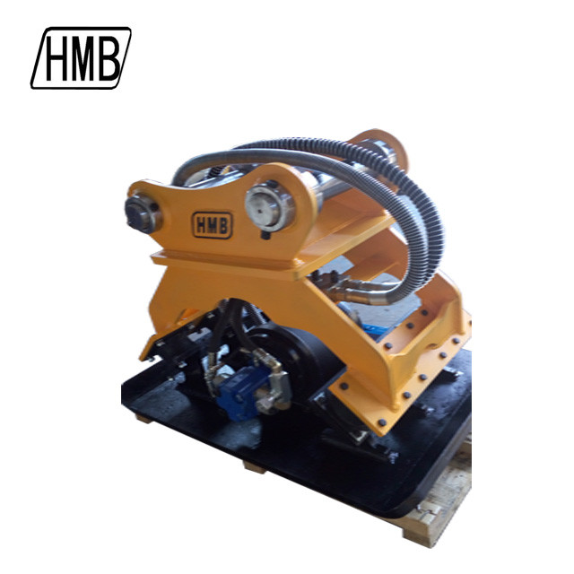 1 year warranty CE/ISO 9001 hydraulic plate compactor for excavator