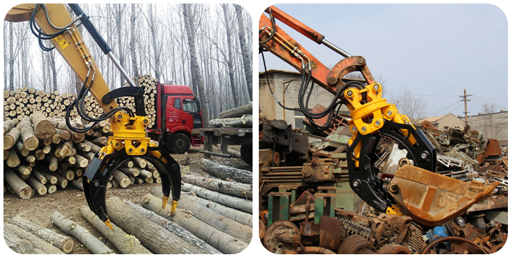 HMB excavator grab from China for loading-13