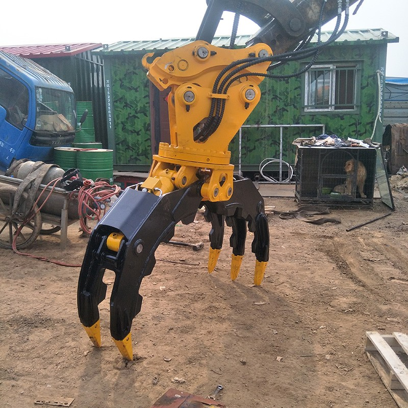 HMB excavator grab from China for loading-6