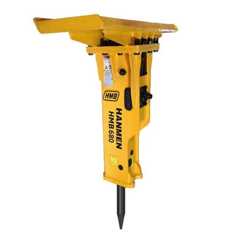 Skid steer loader Hydraulic rock breaker hammer for skid steer loader