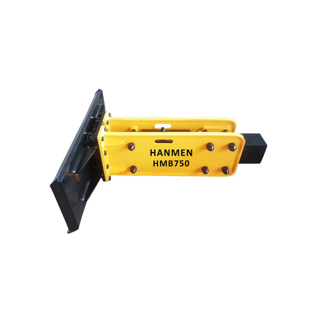 Hydraulic rock breaker and hydraulic hammer for skid-steer loader