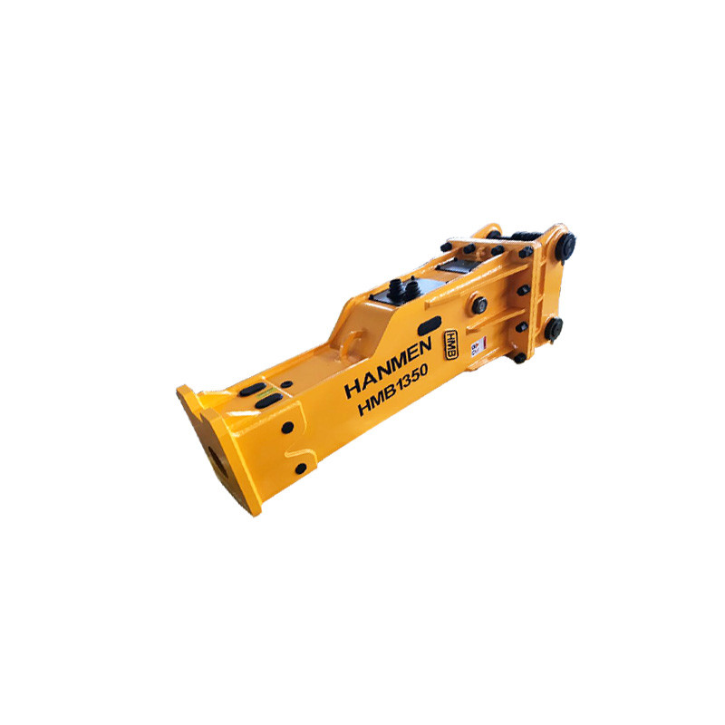 HMB1350 silenced type hydraulic rock breaker and hydraulic hammer with 135mm chisel