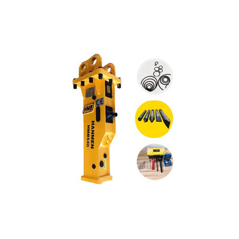 mini digger rock breaker and mini Hydraulic rock breaker for 3 ton mini excavator