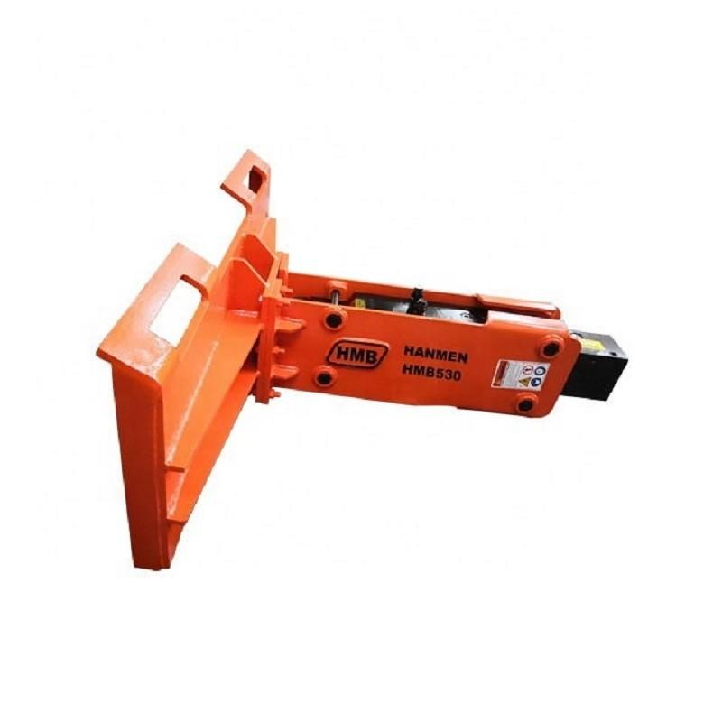 Skid-steer loader type hydraulic rock breaker hydraulic hammer for skid steer loader