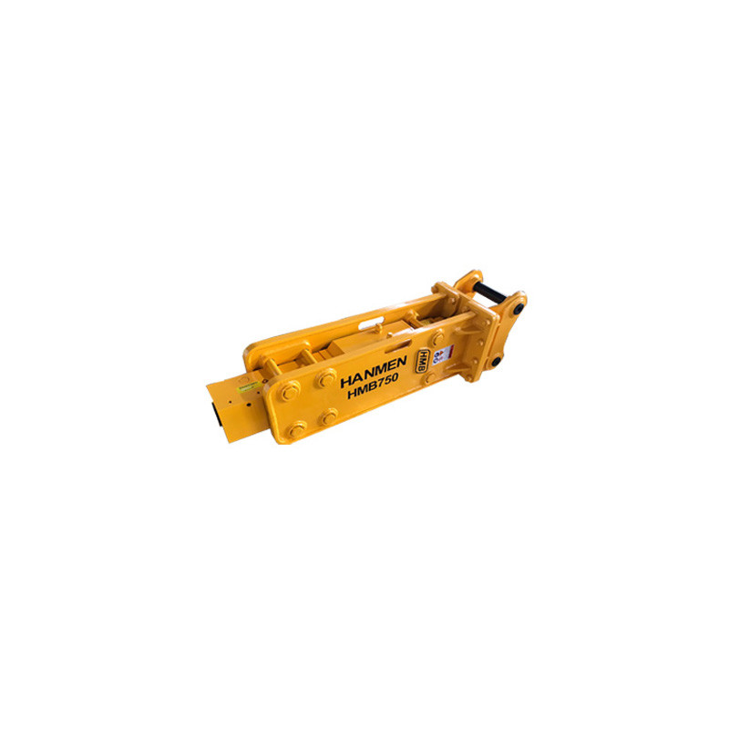 HMB750 OPEN type hydraulic rock breaker hammer construction attachments with 75mm chisel