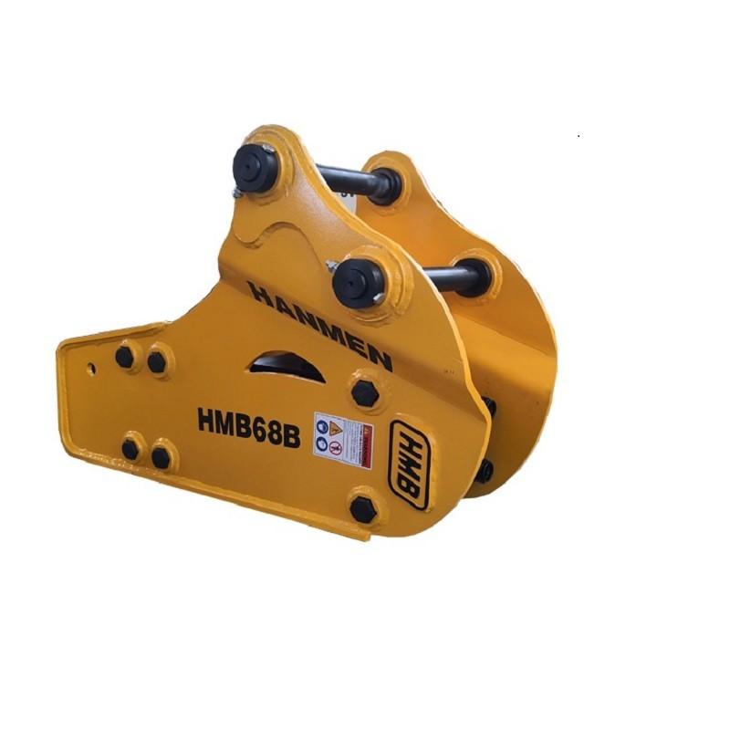 hmb680 backhoe breaker hydraulic hammer for 3 ton excavator rock breaker