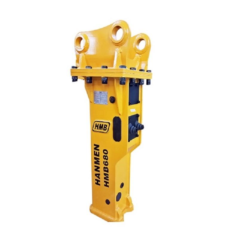 SB40 silenced light duty hydraulic jackhammer for excavator  for 3-7T excavator