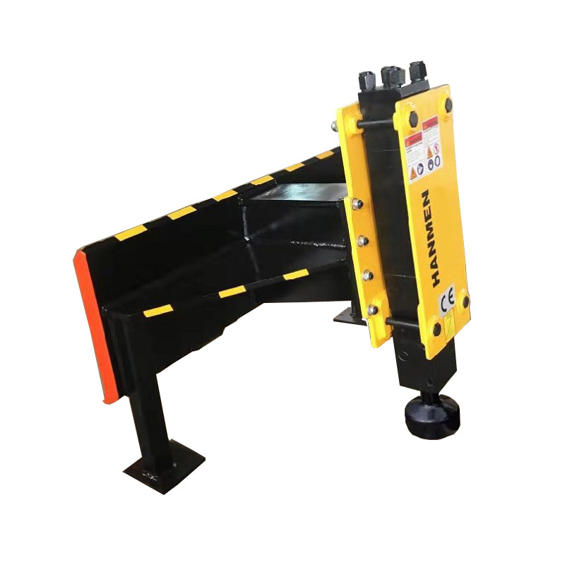 Excavator Mounted Hydraulic jack hammer type farm fence work Post ramming driver