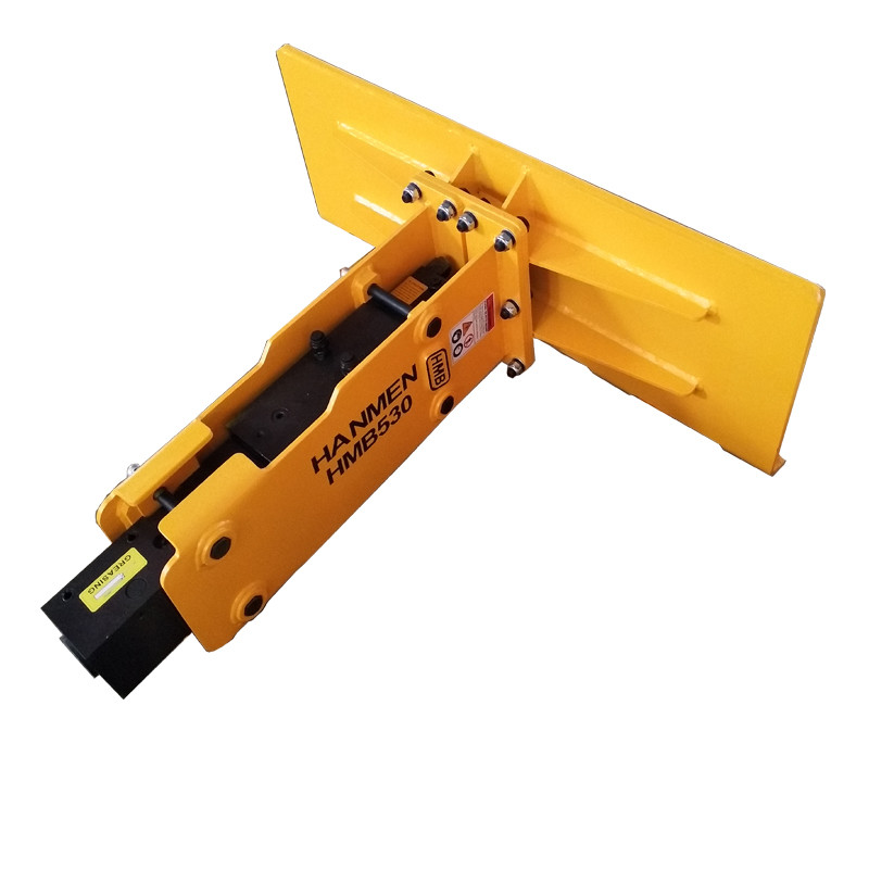hydraulic breaker manufacture from China specially for Skid steer loader excavator 3-7T with chisel 68mm