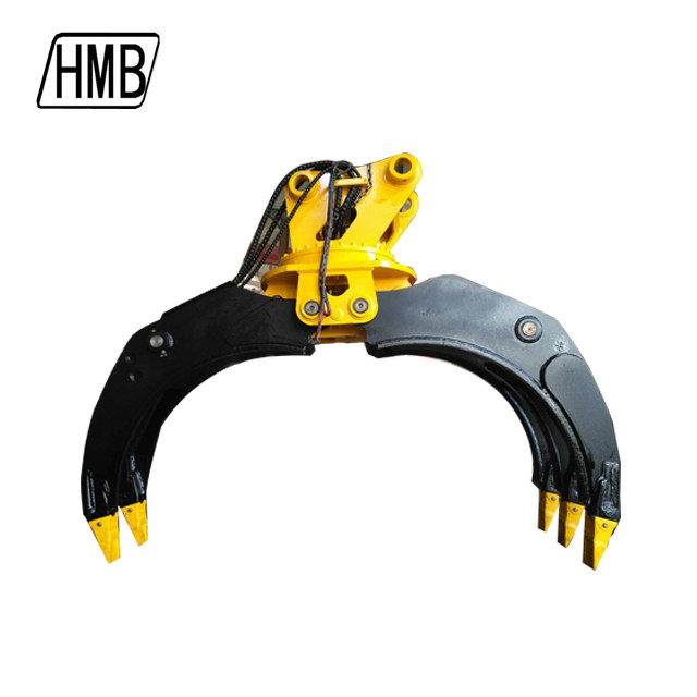 Good Price used Excavator Hydraulic Rotating Grapple