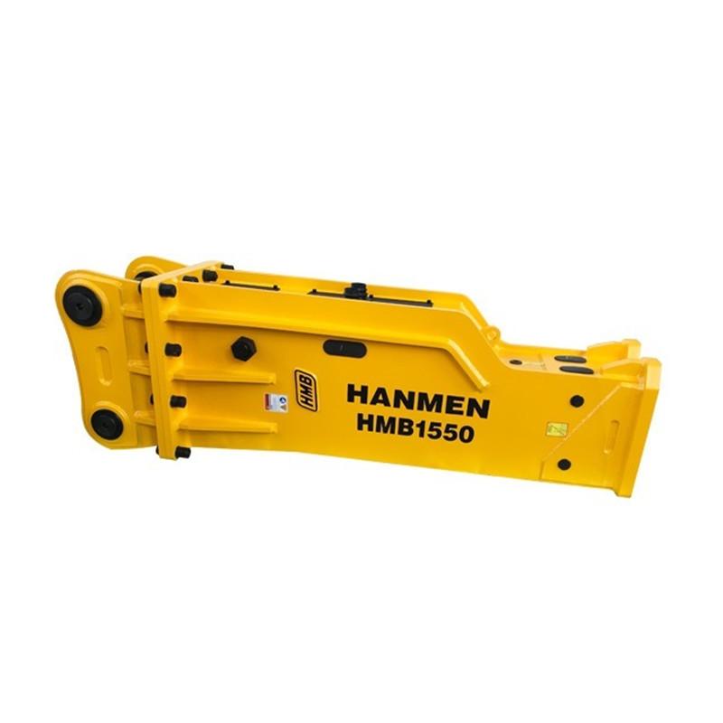 Soosan  silenced type hydraulic rock breaker hammer for PC50 PC60 excavator