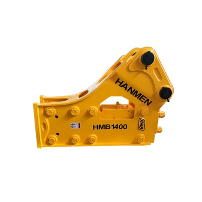 Silenced Type soosan sb81 hydraulic breaker hammer with CE