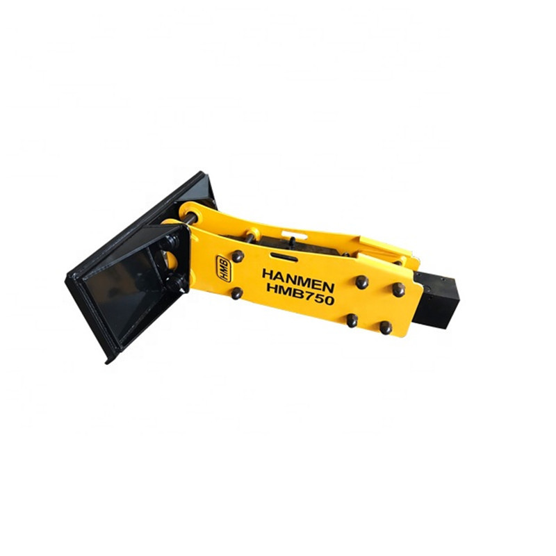skid steer loader hydraulic hammer with 75mm