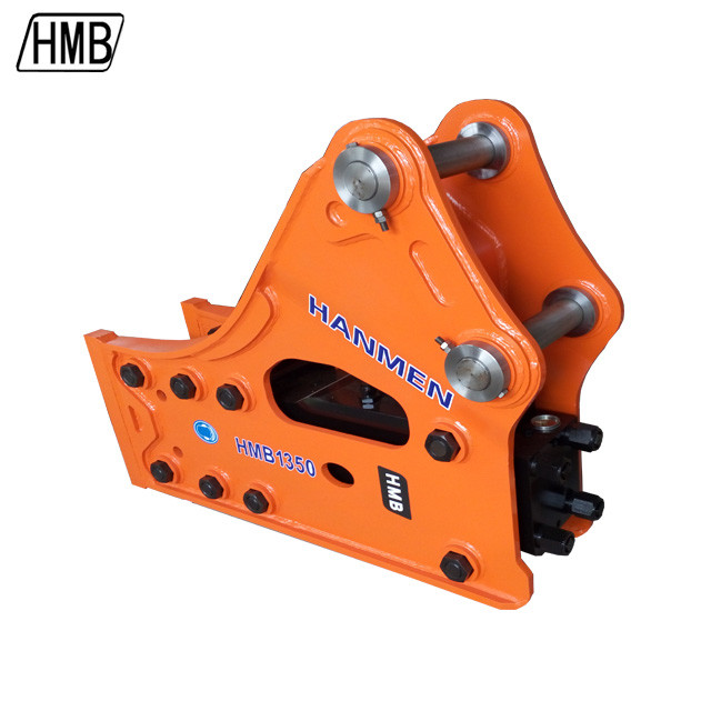 side type Excavator hydraulic breaker