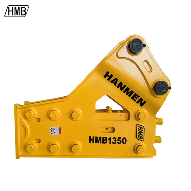 ce approved hydraulic breaker hammer side type  hydraulic breaker with 135mm chisel
