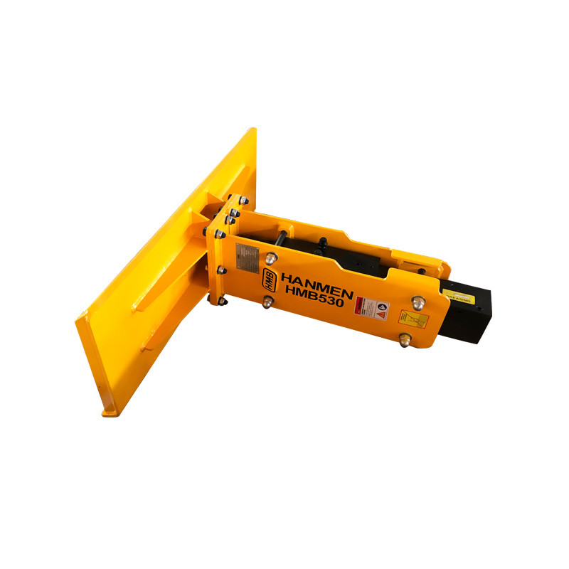 Skid steer loader Hydraulic rock breaker hammer for skid steer loader